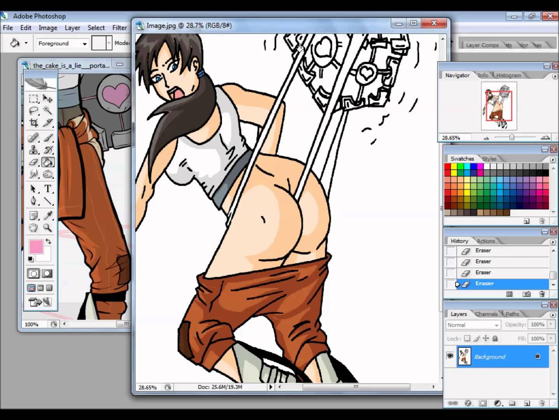 Portal coloring #6, Download drawings