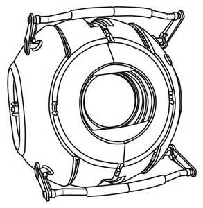 Portal coloring #17, Download drawings