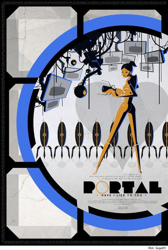 Portal (Video Game) clipart #10, Download drawings