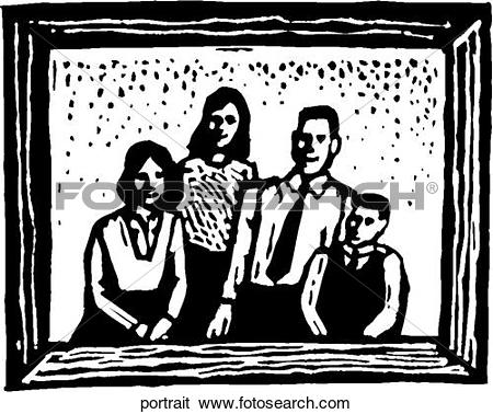 Portrait clipart #10, Download drawings