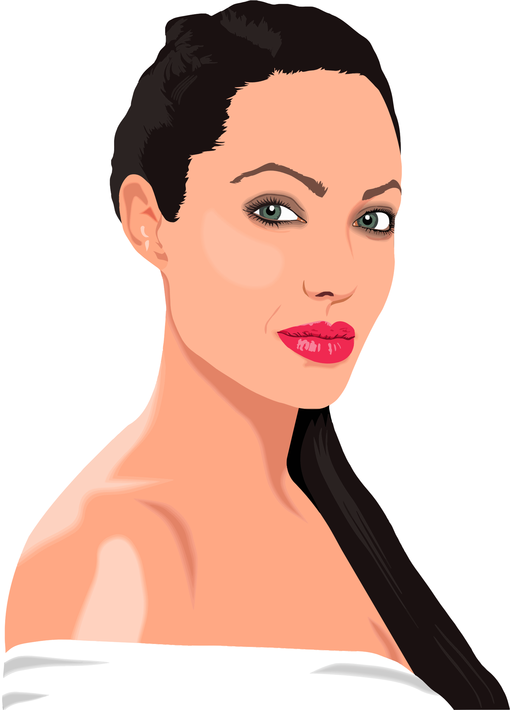 Portrait clipart #2, Download drawings
