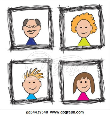 Portrait clipart #17, Download drawings