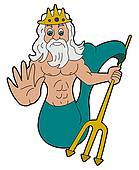 Poseidon clipart #16, Download drawings