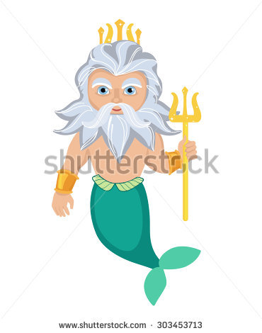 Poseidon clipart #11, Download drawings