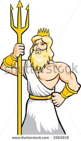 Poseidon clipart #12, Download drawings
