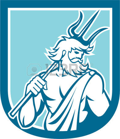 Poseidon clipart #4, Download drawings