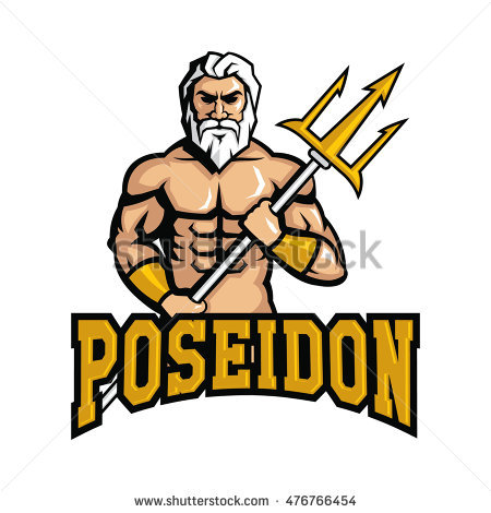 Poseidon clipart #2, Download drawings
