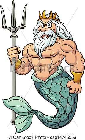 Poseidon clipart #17, Download drawings