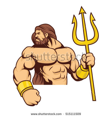 Poseidon clipart #1, Download drawings