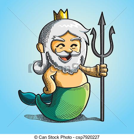 Poseidon clipart #19, Download drawings