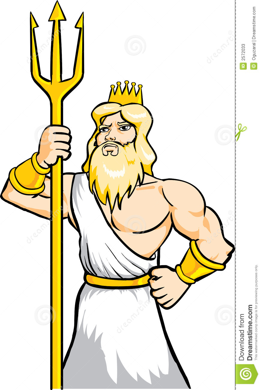 Poseidon clipart #5, Download drawings