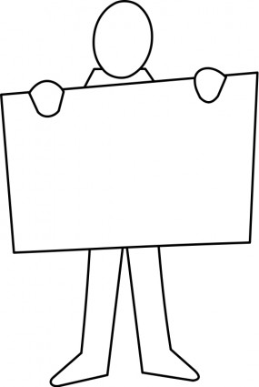 Poster clipart #1, Download drawings