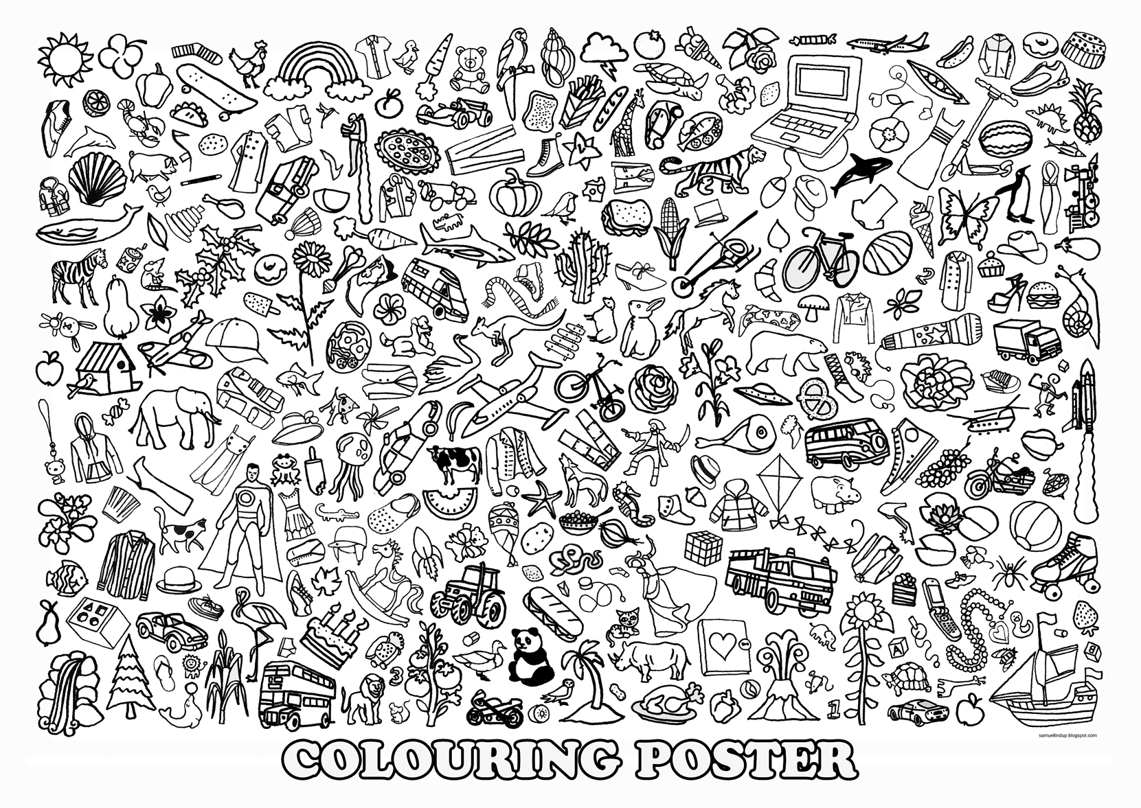 Poster coloring #6, Download drawings