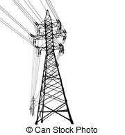 Power Line clipart #3, Download drawings