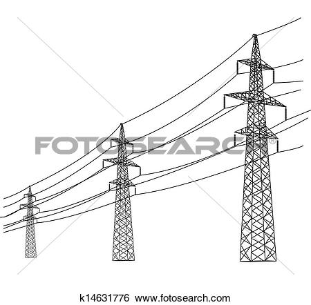 Power Line clipart #4, Download drawings