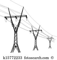 Power Line clipart #1, Download drawings