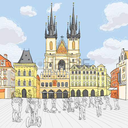 Prague clipart #13, Download drawings