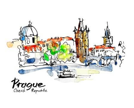 Prague clipart #3, Download drawings