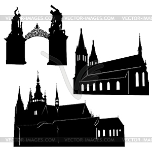 Prague clipart #1, Download drawings
