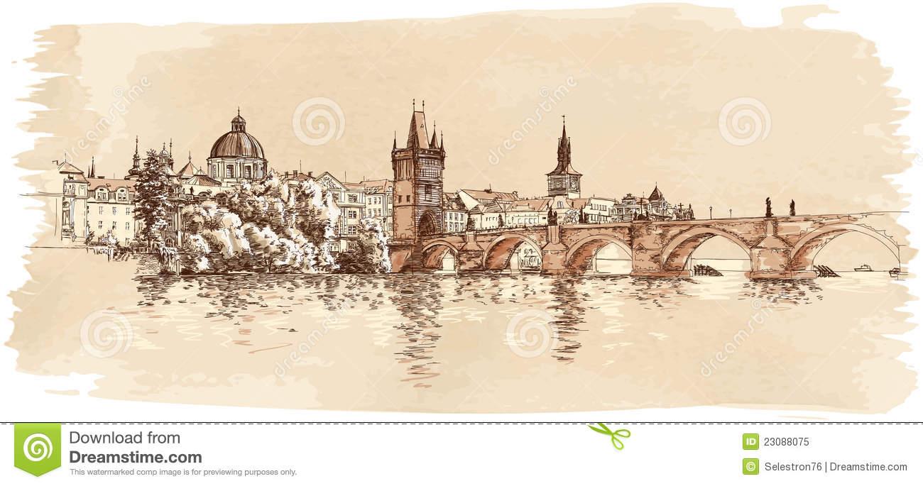 Prague clipart #4, Download drawings