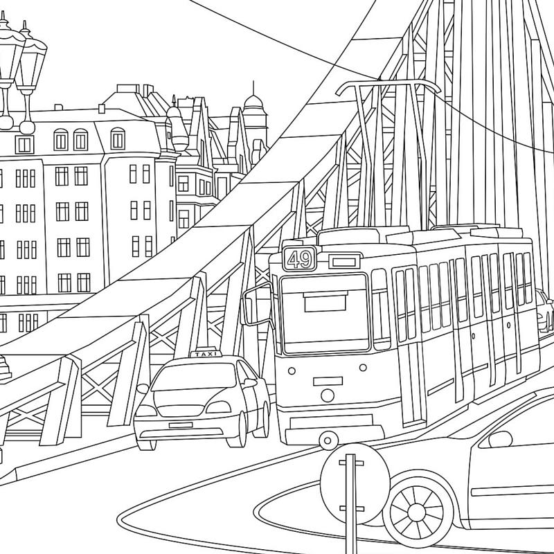 Traveler coloring #5, Download drawings