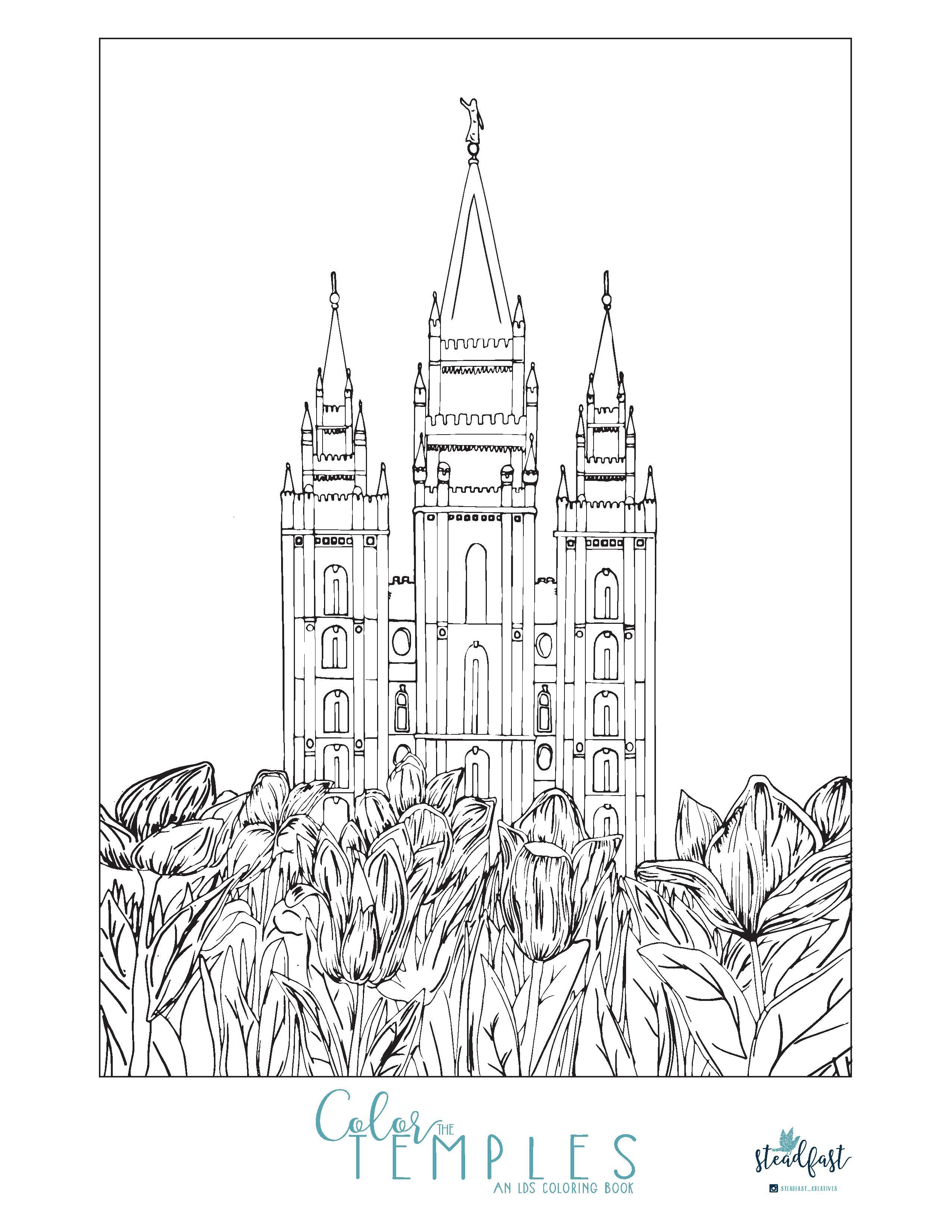 Salt Lake coloring #18, Download drawings