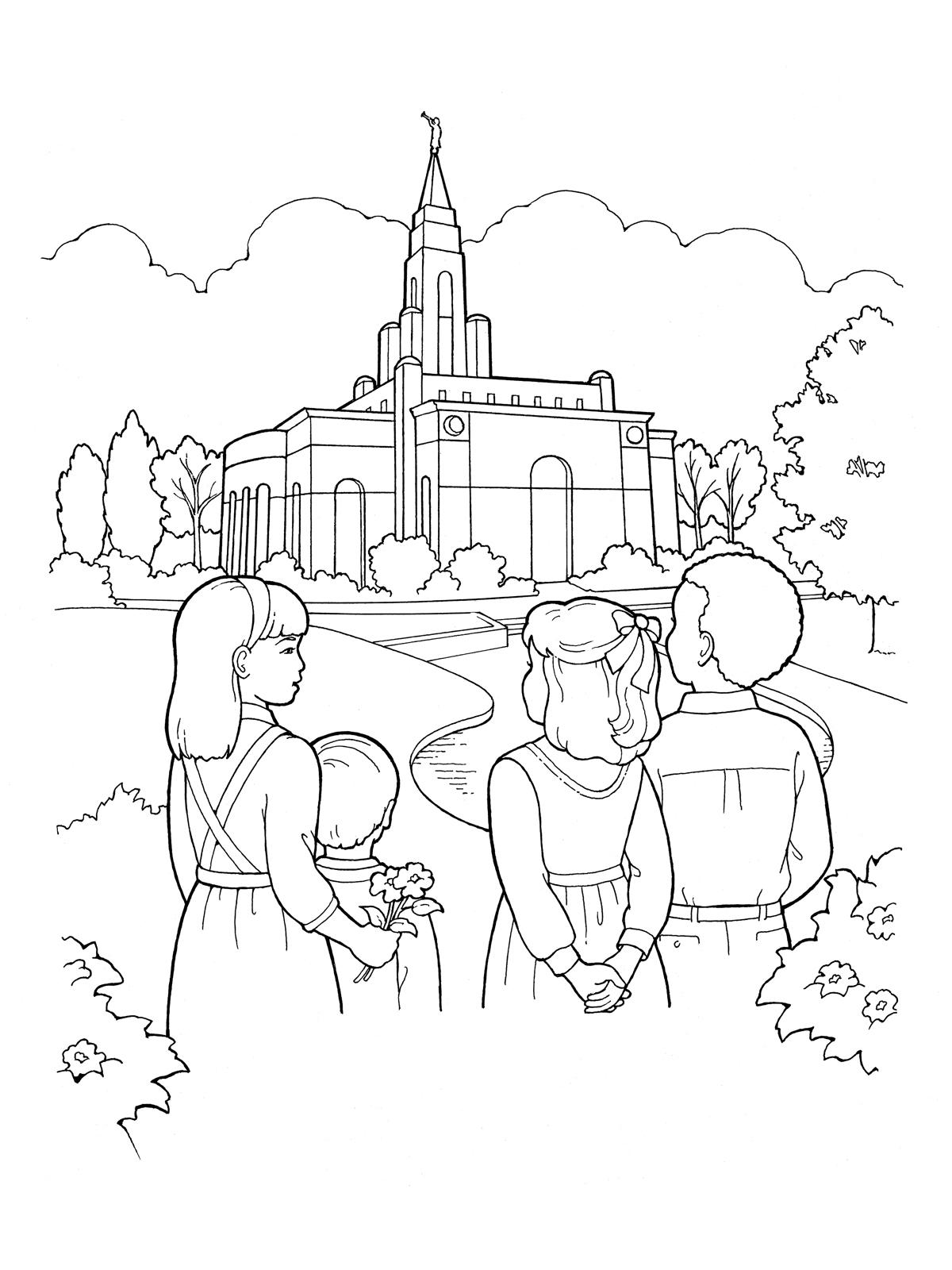 Pray Lake coloring #2, Download drawings