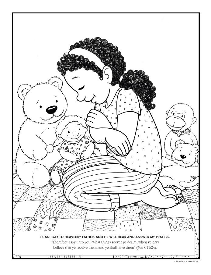 Pray Lake coloring #10, Download drawings