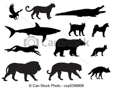Predator (Animal) clipart #1, Download drawings