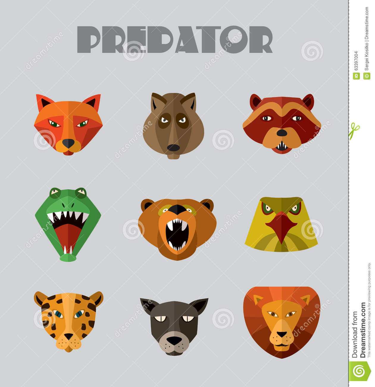 Predator (Animal) clipart #8, Download drawings