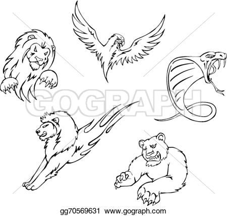Predator (Animal) clipart #10, Download drawings