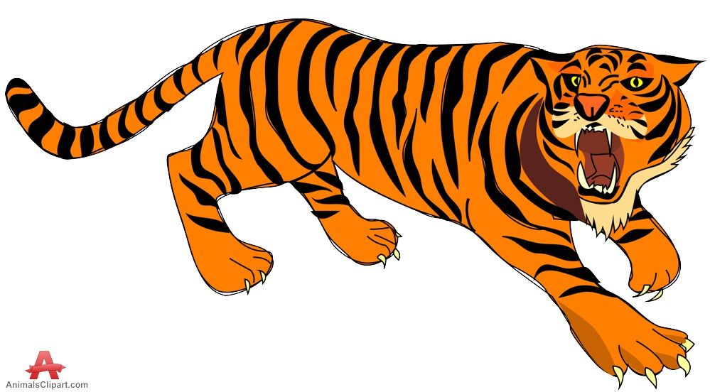 Tiiger clipart #4, Download drawings