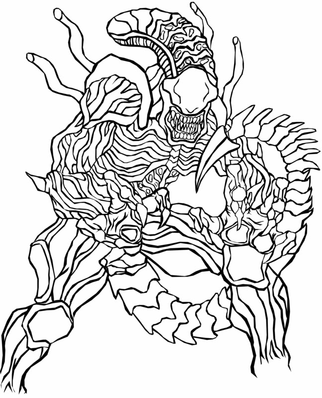 Predator (Animal) coloring #13, Download drawings
