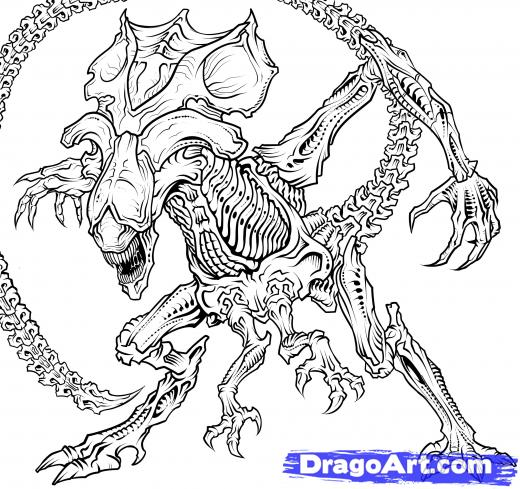 Predator (Animal) coloring #3, Download drawings