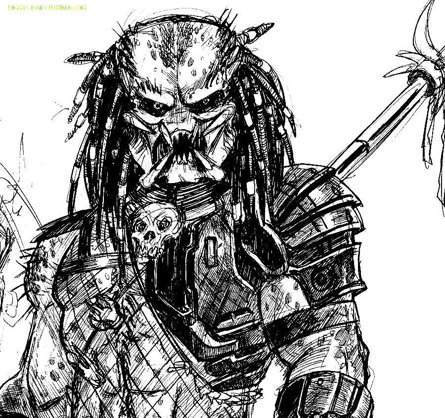 Predator (Animal) coloring #18, Download drawings