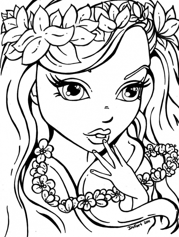 Pretty coloring #2, Download drawings