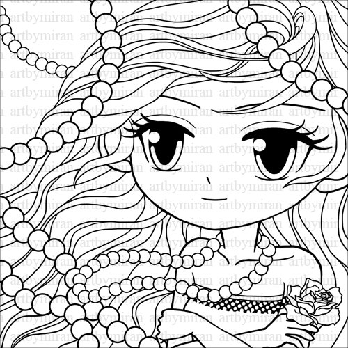 Pretty coloring #3, Download drawings