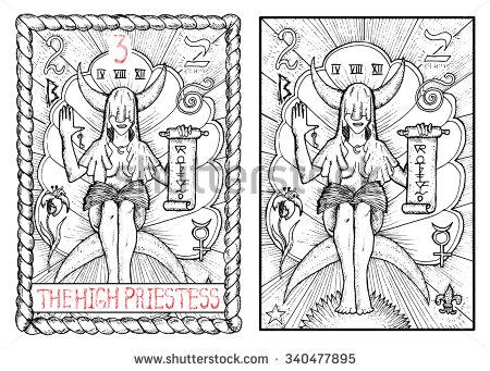 Priestess coloring #12, Download drawings