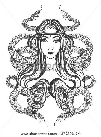 Priestess coloring #6, Download drawings