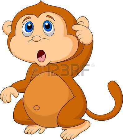 Primate clipart #7, Download drawings