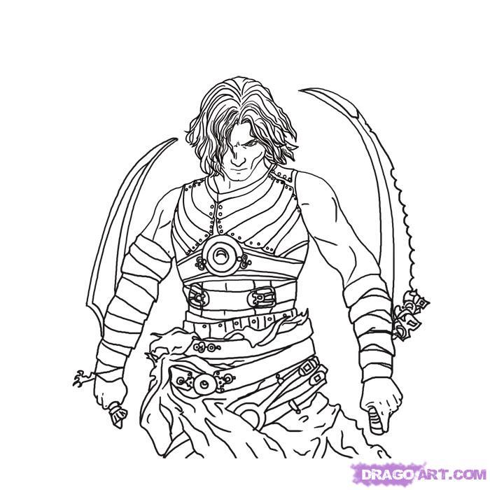 Prince Of Persia coloring #20, Download drawings