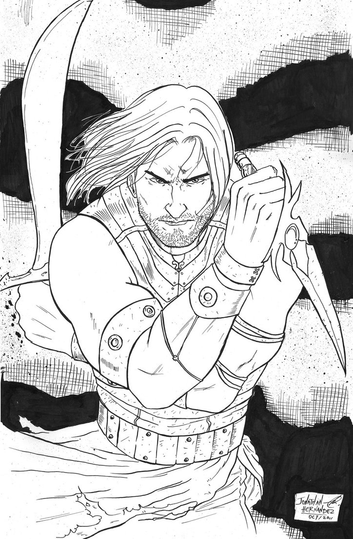 Prince Of Persia coloring #12, Download drawings