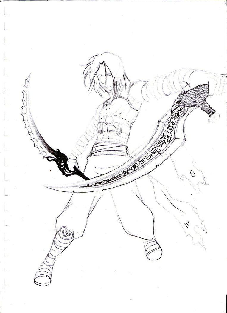 Prince Of Persia coloring #9, Download drawings