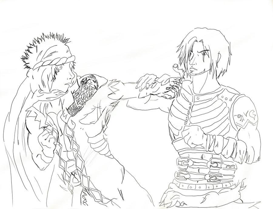 Prince Of Persia coloring #19, Download drawings