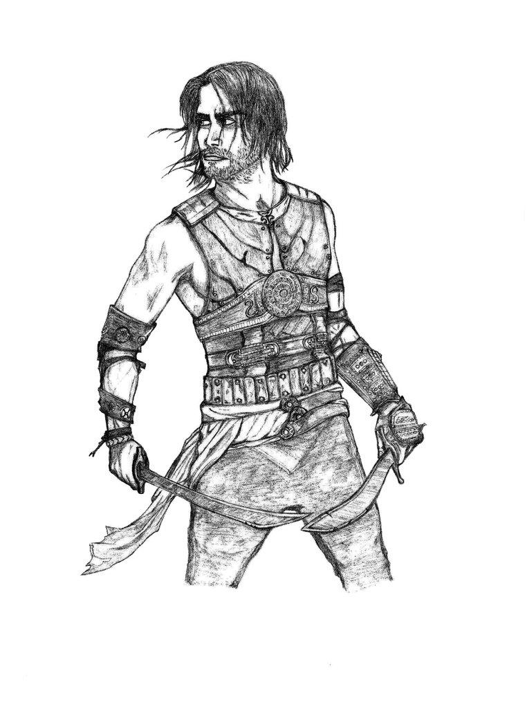 Prince Of Persia coloring #16, Download drawings