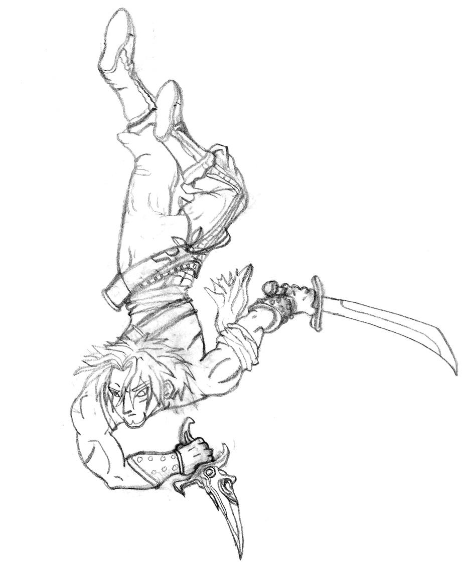 Prince Of Persia coloring #14, Download drawings