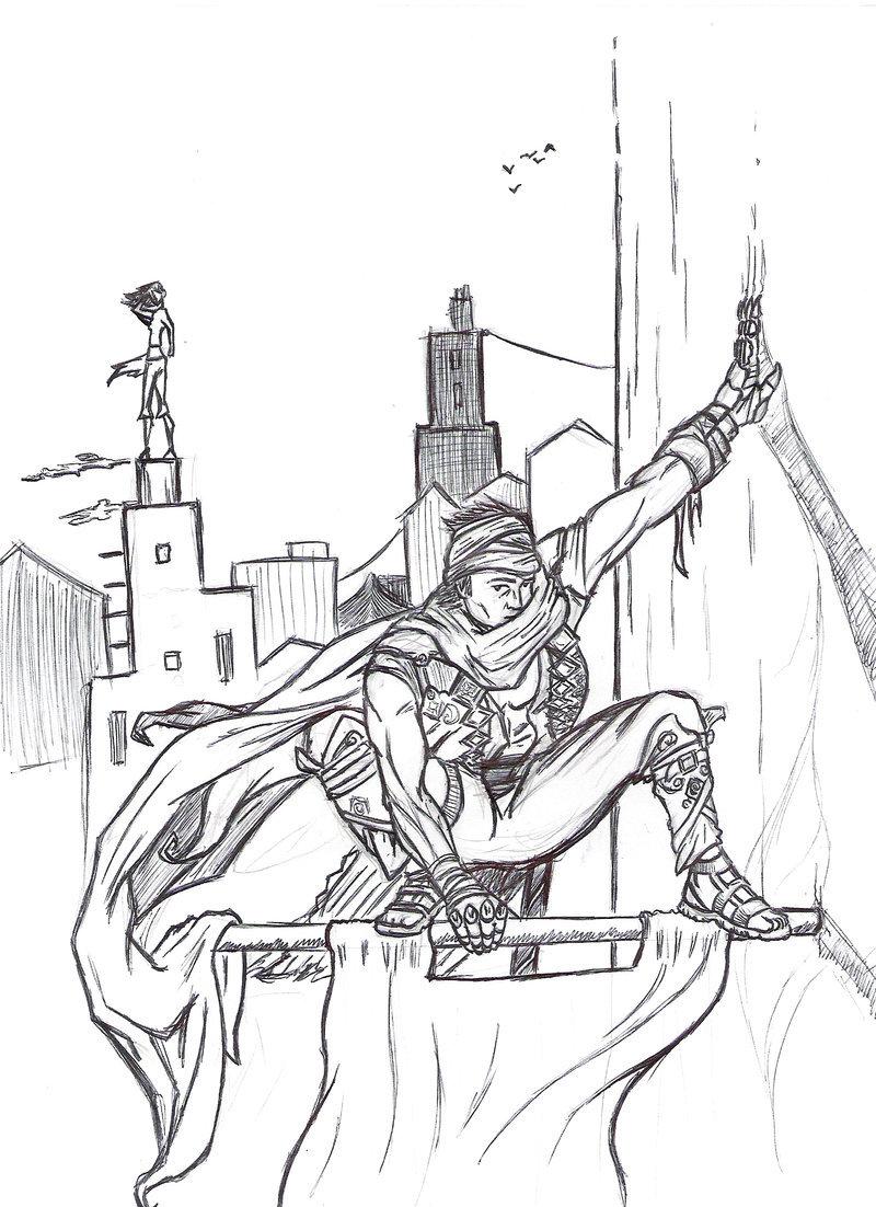 Prince Of Persia coloring #6, Download drawings