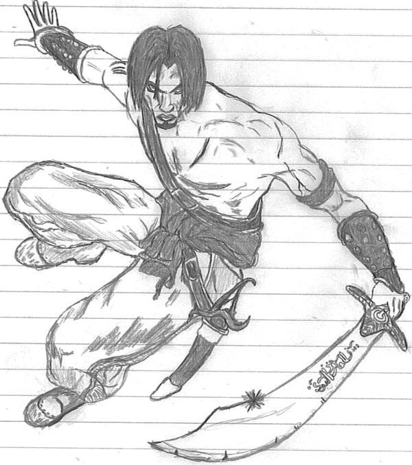 Prince Of Persia coloring #18, Download drawings