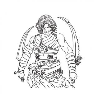 Prince Of Persia coloring #15, Download drawings