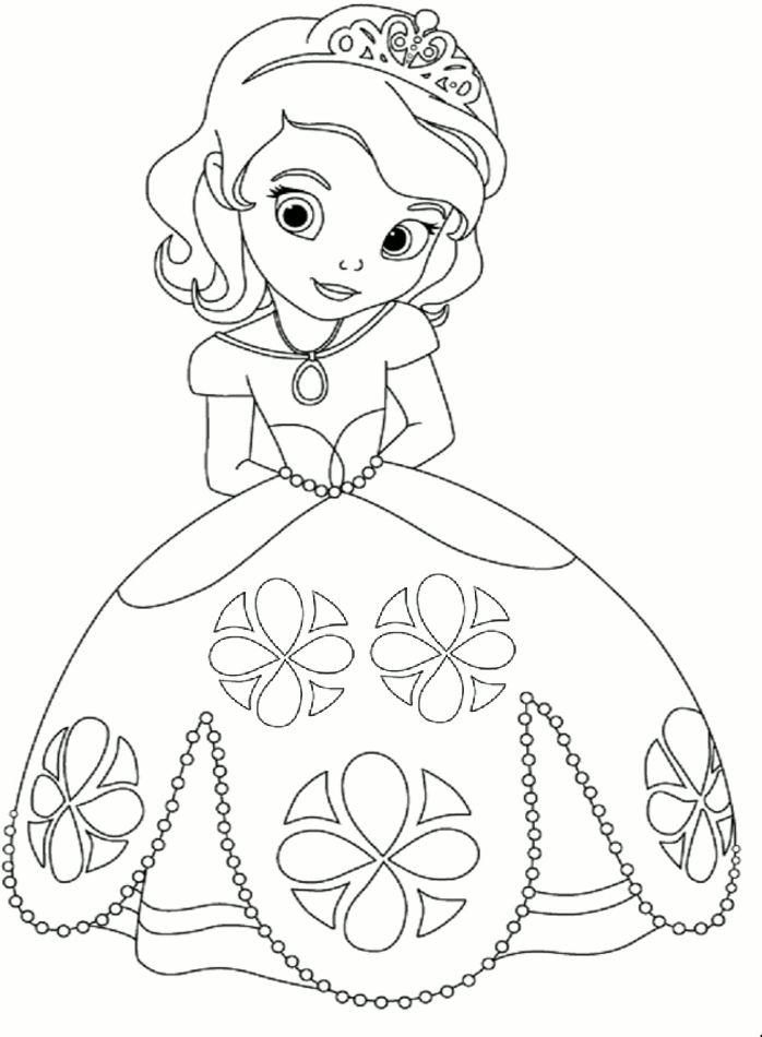 Princess coloring #4, Download drawings